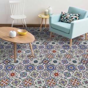 20 cm x 23 cm PVC Mosaikfliese Selbstklebend Floral