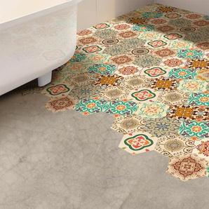 20 cm x 23 cm PVC Mosaikfliese Selbstklebend Turkish