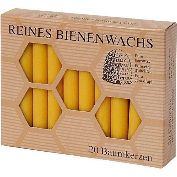 200 Baumkerzen 100% Bienenwachs Christbaumkerzen