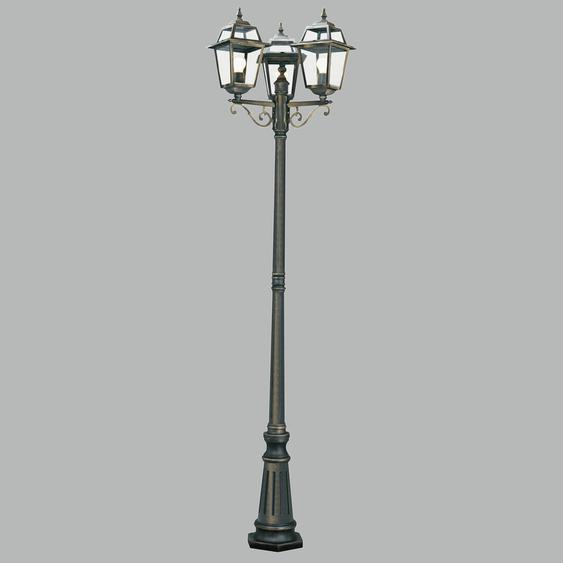 227 cm Lampenpfosten 3-flammig Carrizales