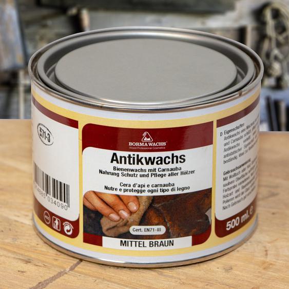 23,60 EUR/l - Antikwachs -Mittelbraun- aus Bienenwachs Restaurationsbedarf