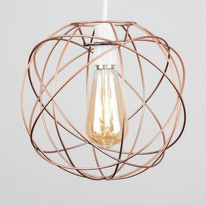 25 cm Lampenschirm Atom aus Metall