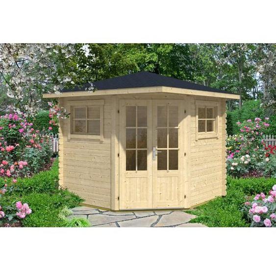 250 cm x250 cm Gartenhaus Sunny