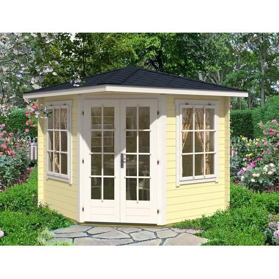 250 cm x250 cm Gartenhaus Sunny-C