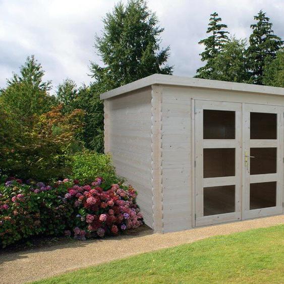 270 cm x 210 cm Gartenhaus Gent