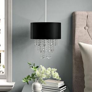 28 cm Lampenschirm aus Stoff