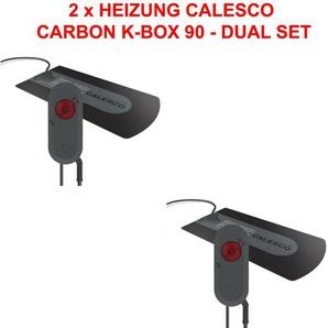 2x Dual Set Wasserbett Heizung Calesco Carbon K-box 90 Ptc Analog 250