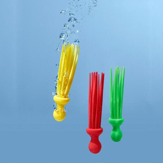 3 flexible Tauchstäbe - gelb -