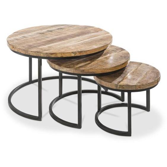 3-Satz Tisch, Akazie, Holz