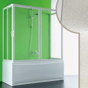 3 seitiger Acryl Badewannenaufsatz 70x170x70CM Nettuno mit zentraler Öffnung - IDRALITE