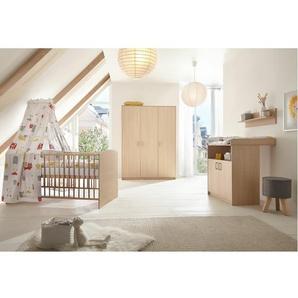 3-tlg. Babyzimmer-Set Classic Buche