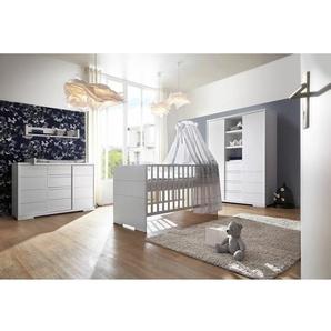 3-tlg. Babyzimmer-Set Maxx White