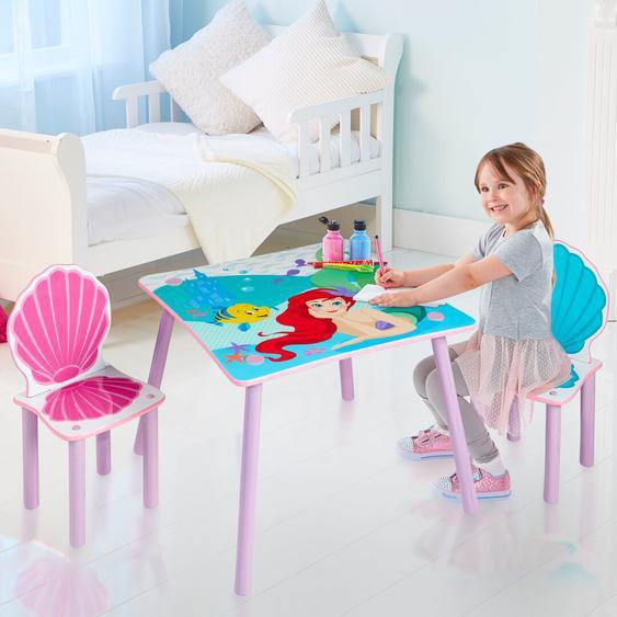 3-tlg. Kindersitzgruppe Disney Princess Ariel