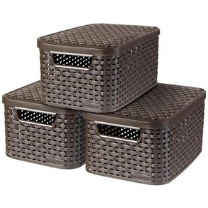 3-Set Box aus Kunststoff