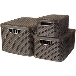 Box-Set aus Kunststoff