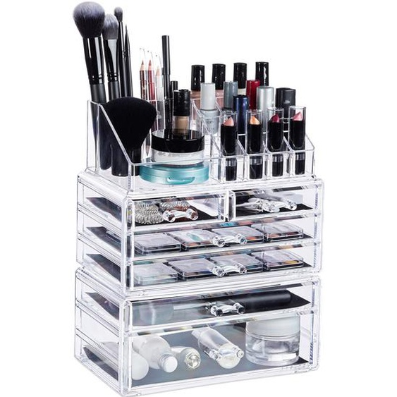 3-tlg. Kosmetik-Organizer-Set