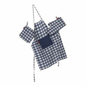 3-tlg. Küchen-Set Quadro aus Polyester / Baumwolle