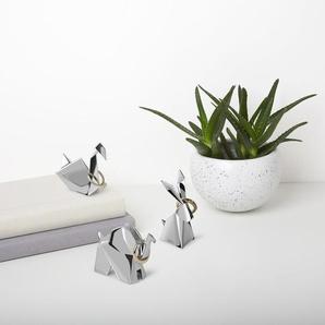 3-tlg. Ringhalter-Set Origami