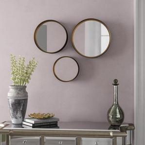 3-tlg. Wandspiegel-Set Iorio