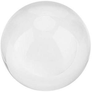 3 Zoll Clear Crystal Ball klar Base transparent Galaxien Mond Sonnensystem Sphere Fortune Ball Home Office Dekor Geschenk(Moon)
