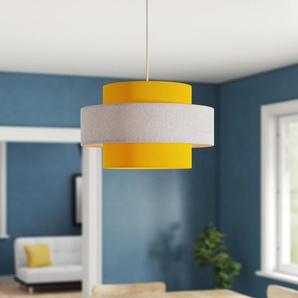 30 cm Lampenschirm aus Leinen