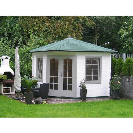 300 cm x300 cm Gartenhaus Viking