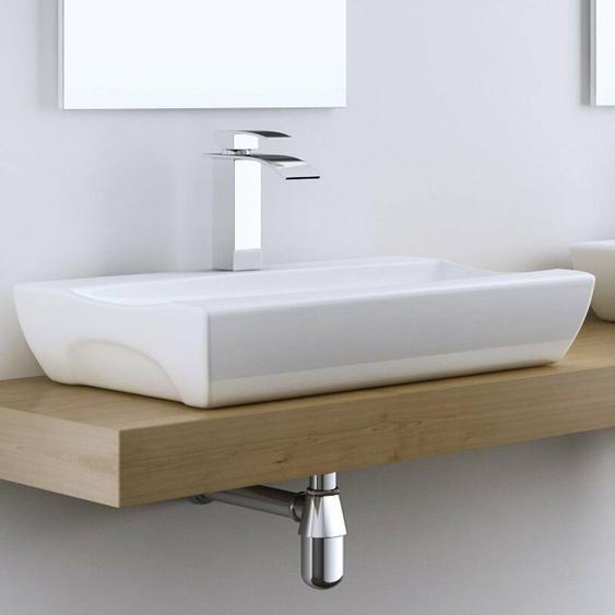 32 cm Aufsatz-Waschbecken Brüssel
