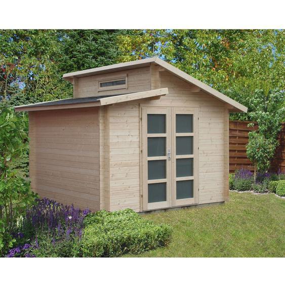 320 cm x 320 cm Gartenhaus Aktiva