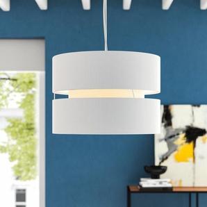 35 cm Lampenschirm aus Baumwollmischgewebe
