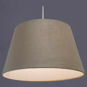 35 cm Lampenschirm aus Samt