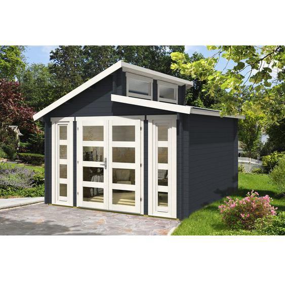351 cm x 351 cm Gartenhaus