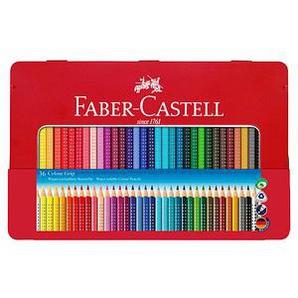 36 FABER-CASTELL Colour GRIP Buntstifte farbsortiert