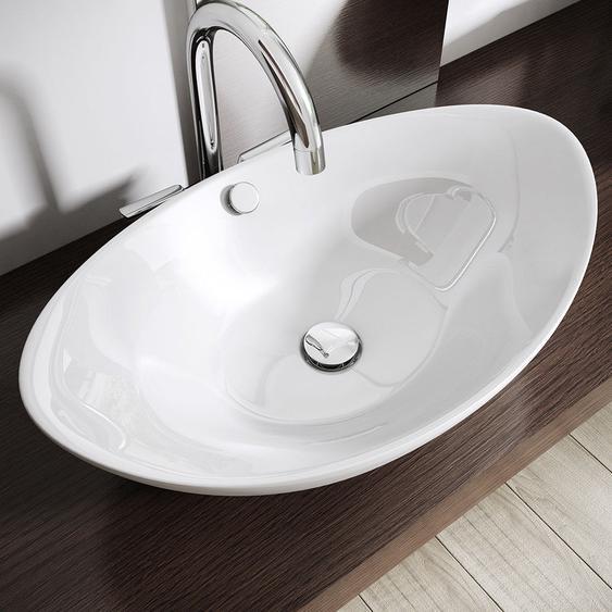 38 cm Aufsatz-Waschbecken Brüssel