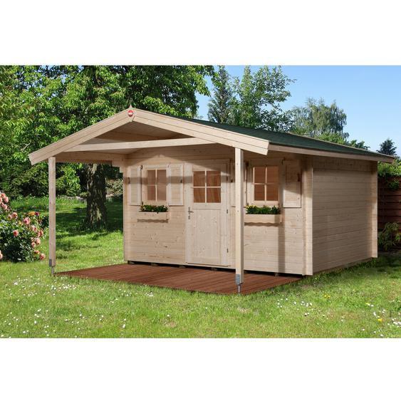 380 cm x 500 cm Gartenhaus