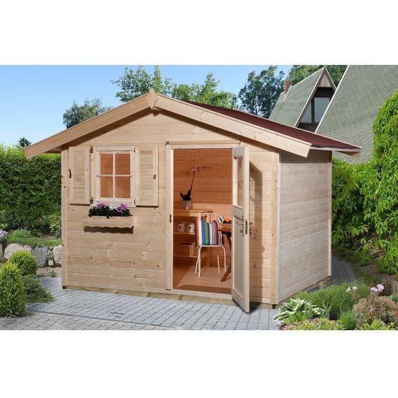 390 cm x 238 cm Gartenhaus