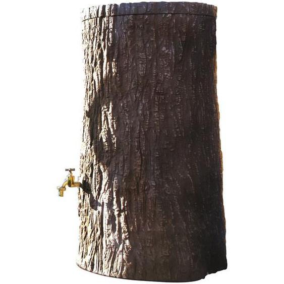 3P Regenspeicher Little Tree 250 l Dunkelbraun