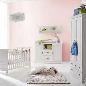 3S Frankenmöbel Massivholz Wäscheschrank Odette 1 Kleiderstange, 1 Einlegeboden