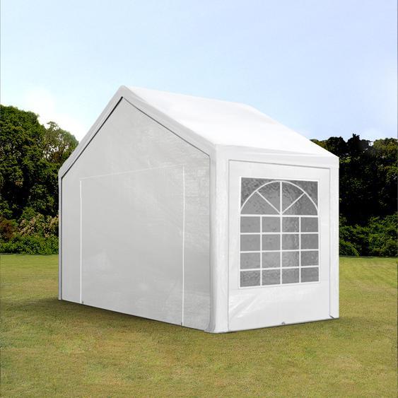 3x2 m Partyzelt, PE-Plane 180 g/m², weiß