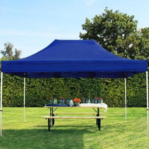 3x4,5 m Faltpavillon PREMIUM Alu 36 mm, blau