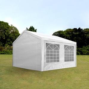 3x5 m Partyzelt, PE-Plane 180 g/m², weiß