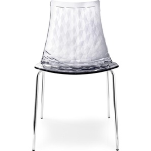 Stühe »Ice CB/1038« silber, connubia by calligaris