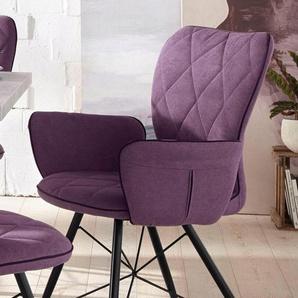 Stuhl mit Armlehnen »Viola« (2 Stück)