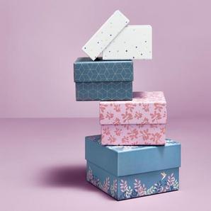4 Schachteln im Set