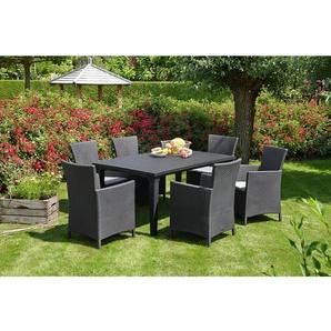 4-Sitzer Gartengarnitur Napoli mit Polster