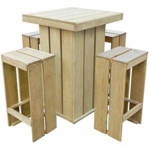 4-Sitzer Bartisch-Set Iolite