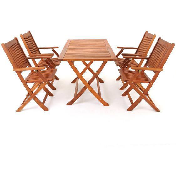4-Sitzer Gartengarnitur ArAgon