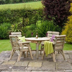4-Sitzer Gartengarnitur Hampden