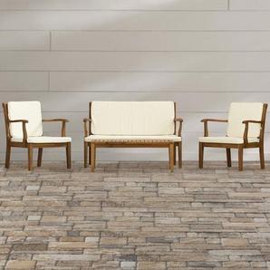 4-Sitzer Lounge-Set Jendrik mit Polster