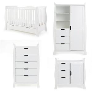 4-tlg. Babyzimmer-Set Stamford Luxe