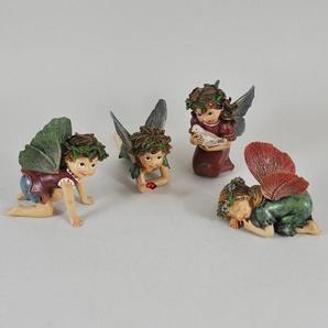 4-tlg. Figuren-Set Flower Fairies